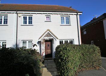 Thumbnail 5 bed end terrace house for sale in Lenham Road, Headcorn, Ashford