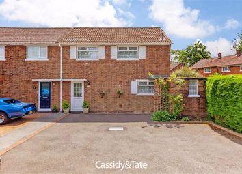 Thumbnail 3 bed semi-detached house for sale in Sparrowswick Ride, St. Albans, Hertfordshire