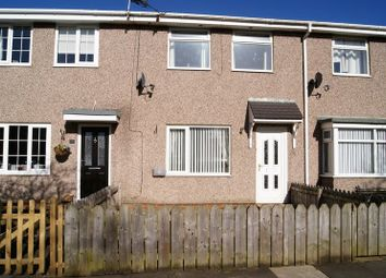 Thumbnail 3 bed terraced house to rent in Bradbury Court, New Hartley, Whitley Bay