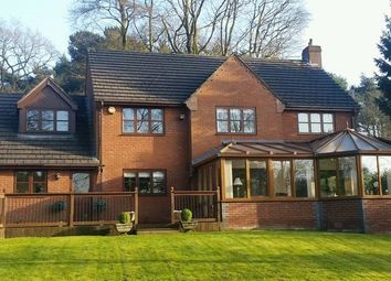 Thumbnail 5 bed detached house for sale in Newcastle Road, Loggerheads, Market Drayton