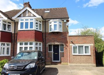 Thumbnail 4 bedroom semi-detached house for sale in Newton Wood Road, Ashtead