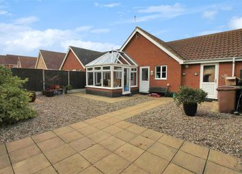 Thumbnail 2 bed bungalow for sale in Barnard Close, Gorleston, Great Yarmouth