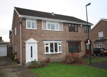 Thumbnail 3 bed semi-detached house for sale in Barlow Close, Guisborough