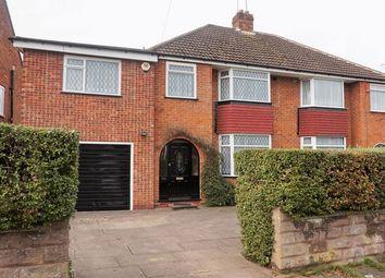 Thumbnail 4 bed semi-detached house for sale in West Heath Road, Northfield, Birmingham