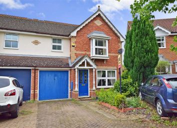 Thumbnail 3 bed semi-detached house for sale in Pippin Way, Kings Hill, West Malling, Kent