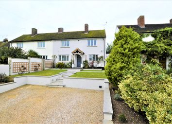 Thumbnail 4 bed semi-detached house for sale in Ridgeway, Little Hadham, Ware