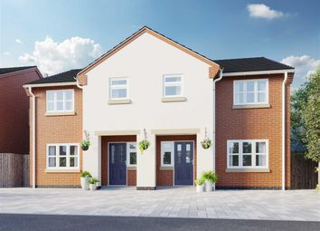 Thumbnail 3 bed semi-detached house for sale in Hayfield Close, Glenfield, Leicester