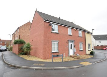 Thumbnail 4 bed semi-detached house for sale in Rosebay Gardens, Cheltenham, Gloucestershire