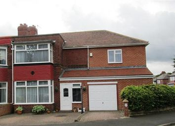 Thumbnail 4 bedroom semi-detached house for sale in Denhill Park, Benwell, Newcastle Upon Tyne