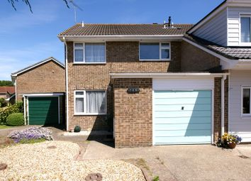 Thumbnail 3 bed semi-detached house for sale in Symes Road, Hamworthy, Poole