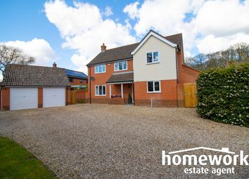 Thumbnail 4 bed detached house for sale in Fakenham Road, Beetley