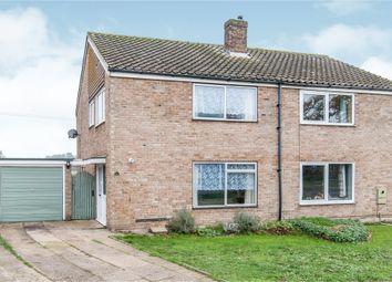 Thumbnail 3 bed semi-detached house for sale in Mouse Lane, Rougham, Bury St. Edmunds