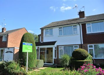 Thumbnail 4 bed semi-detached house for sale in Fletcher Road, Ottershaw, Chertsey