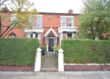 Thumbnail 5 bed terraced house for sale in Cumberland Avenue, Sefton Park, Liverpool