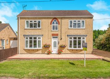 Thumbnail 4 bed detached house for sale in Straight Drove, Farcet, Peterborough