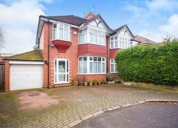 Thumbnail 3 bed semi-detached house for sale in Woodland Close, London