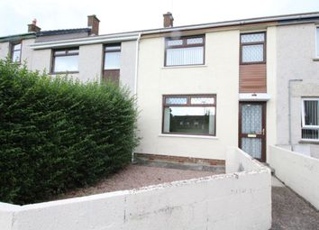 Thumbnail 3 bed terraced house for sale in Oakwood Road, Carrickfergus