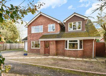Thumbnail 5 bed detached house for sale in Little Green Lane, Wrecclesham, Farnham