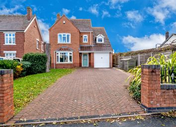 Thumbnail 5 bed detached house for sale in Cemetery Road, Cannock