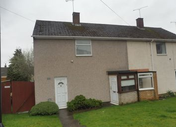 Thumbnail 2 bedroom semi-detached house for sale in James Green Road, Tile Hill, Coventry