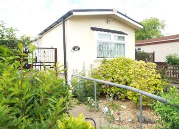 Thumbnail 2 bed mobile/park home for sale in Jacks Hill Park, Jacks Hill, Graveley, Hitchin