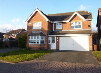 Thumbnail 4 bed detached house for sale in Newmarch Court, Scartho Top, Grimsby
