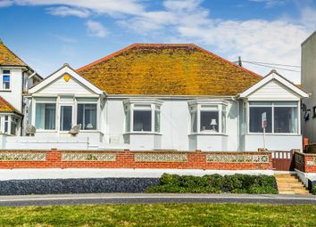Thumbnail 4 bedroom detached bungalow for sale in Marine Drive, Saltdean, Brighton