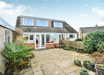 Thumbnail 3 bed semi-detached bungalow for sale in Banksfield Grove, Yeadon, Leeds
