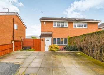 Thumbnail 2 bed semi-detached house for sale in Farnhill Close, Windmill Hill, Runcorn, Cheshire