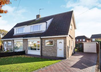 Thumbnail 3 bed semi-detached house for sale in Pine Close, Lincoln
