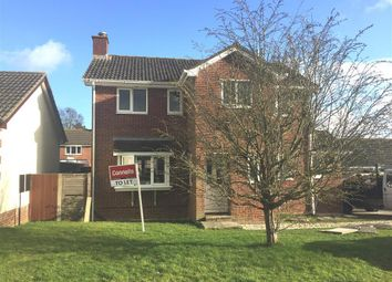 Thumbnail 4 bed property to rent in Preetz Way, Blandford Forum