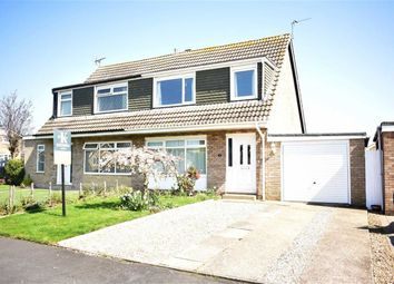 Thumbnail 3 bed semi-detached house for sale in Rosewood Close, Bridlington