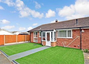 Thumbnail 2 bed terraced bungalow for sale in Cudham Gardens, Cliftonville, Margate, Kent