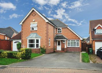 Thumbnail 4 bed detached house for sale in Holly Court, Oadby, Leicester