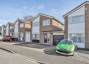 Thumbnail 3 bed detached house for sale in Meldon Close, Darlington, Durham