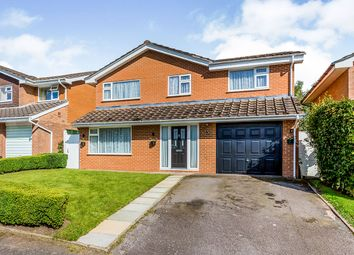 Thumbnail 4 bed detached house for sale in Sedbergh Close, Holmes Chapel, Crewe, Cheshire
