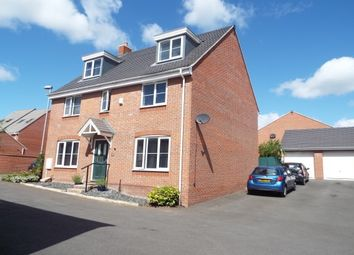 Thumbnail 5 bedroom detached house to rent in First Oak Drive, Clipstone Village, Mansfield