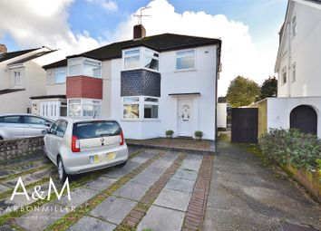 Thumbnail 4 bed semi-detached house for sale in Cheriton Avenue, Clayhall, Ilford