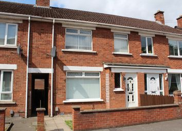Thumbnail 3 bed terraced house for sale in Knockmount Gardens, Clarawood, Belfast