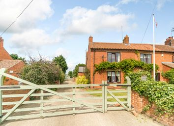 Thumbnail 4 bed end terrace house for sale in Main Street, Hougham, Lincolnshire