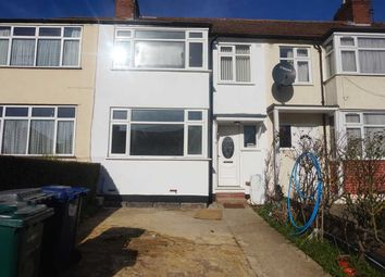 Thumbnail 4 bed terraced house to rent in Brent Park Road, Brent Cross, London