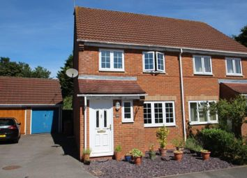 Thumbnail 3 bed semi-detached house for sale in Kingfishers, Shipton Bellinger, Tidworth