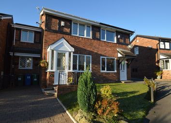 Thumbnail 3 bed semi-detached house for sale in St Georges Road, Church Meadow, Unsworth, Bury
