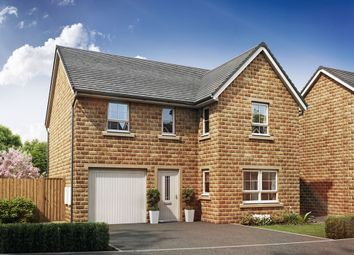 "Thumbnail 4 bed detached house for sale in ""Halton"" at Thorpe Green Drive, Golcar, Huddersfield"