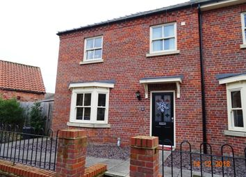 Thumbnail 3 bed end terrace house to rent in The Becks, Horncastle
