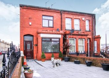 Thumbnail 4 bed end terrace house for sale in Walton Breck Road, Liverpool, Merseyside