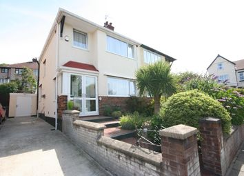 Thumbnail 3 bed semi-detached house for sale in Bletchley Avenue, Wallasey