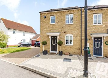 Thumbnail 3 bed end terrace house for sale in The Gables, Ongar