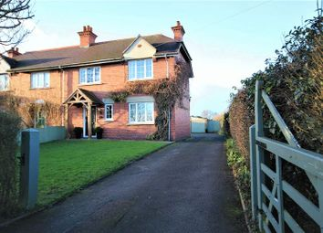 Thumbnail 3 bed semi-detached house for sale in Kidnal, Malpas