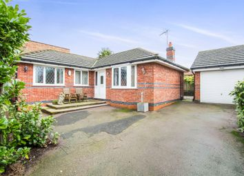 Thumbnail 2 bed detached bungalow for sale in Main Street, Great Glen, Leicester